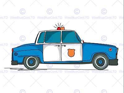 CARTOON TAXI CAR YELLOW CAB KIDS CHILDS BEDROOM PHOTO FINE ART POSTER BMP334B