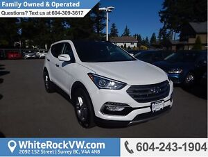 2017 Hyundai Santa Fe Sport 2.4 Premium Heated Front and Rear...