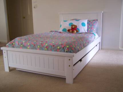 KING SINGLE BED AND SINGLE TRUNDLE - FREE MELBOURNE DELIVERY* Melbourne CBD Melbourne City Preview