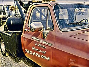 Unwanted vehicle and scrap removal