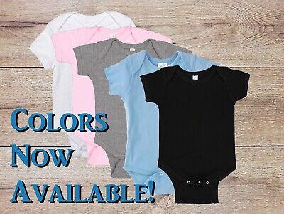 Custom Onesie/Bodysuit Personalized Infant, Baby Gift, COLORS NOW (Custom Onesies)