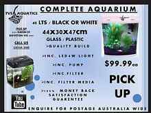 Aquarium All In One 40 Lts with LED light inc Doveton Casey Area Preview