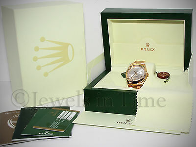 Rolex NEW Day-Date II President 18k Yellow Gold Mens Watch Box/Papers 218238