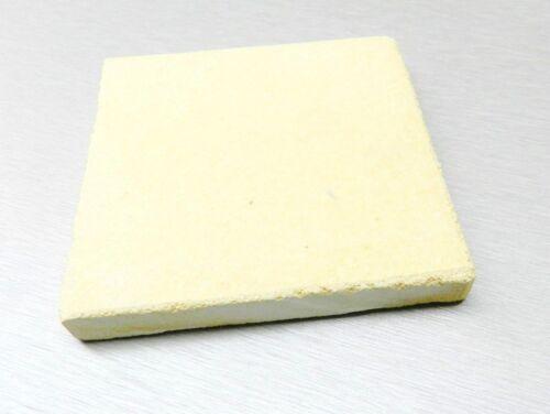 "7"" Soldering Board Ceramic Plate Jewelry Making Heat Resistant 7x 7 Square Block"