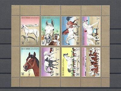 BAHRAIN 1975 SG 223ab MNH Cat £80
