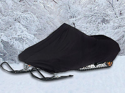 "NEW Black Snowmobile Sled Cover for Snowmobiles 113""L - 125""L"