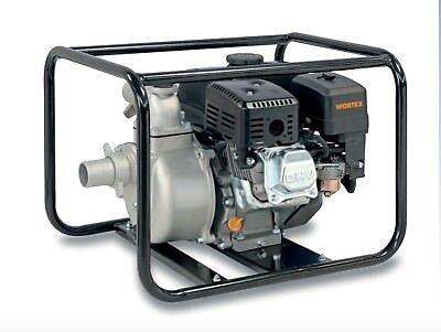 Power Pump 4T A Petrol Self-Priming Portable Aluminium WORTEX Lw 50 5,5 HP