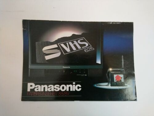 Catalogue Panasonic 88/89