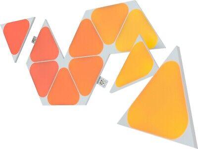 Nanoleaf Shapes Mini Triangles Multicolor Light Panel Expansion Kit - 10 Pack