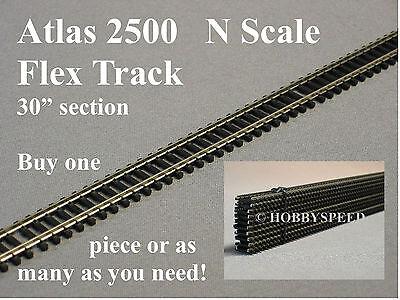 ATLAS N SCALE 2500 CODE 80 SUPER FLEX 30