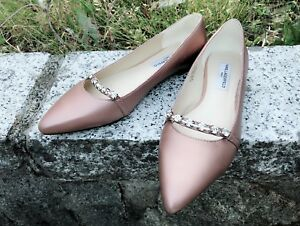 Size 39 8.5 Karl Lagerfeld Crystal flat