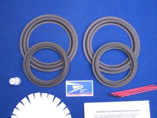 Infinity Kappa 5.1 / Series II Speaker Foam Surround Repair Kit / Woofer Refoam
