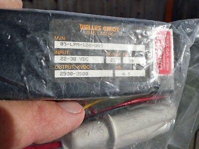 Melles-griot 05-lpm-126-065 Laser Power Supply 24v In 2.5-3.5kvdc Out New