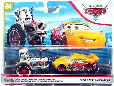 BUMPER SAVE TRACTOR & RUST-EZE CRUZ RAMIREZ disney pixar cars 3 2 pack NEW
