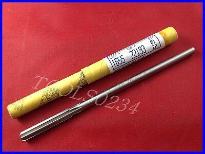 Nos Morse 932 Hss Chucking Reamer Straight Flute Shank 22193 Usa