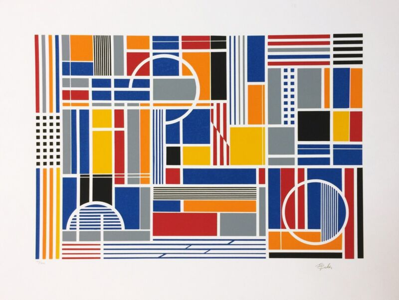 "Gisela Beker ""labyrinth"" C. 1979 