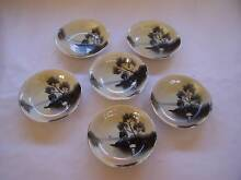 Japanese Theme Bowl x 6 Bowls Shabby Chic CAN POST Wynyard Waratah Area Preview