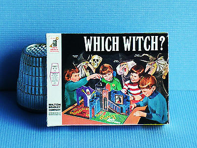 Dollhouse Miniature 1:12 Which Witch Game 1970s Halloween Haunted House game toy](Which Halloween)