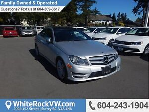 2013 Mercedes-Benz C-Class Power Moonroof, Radio Data System...