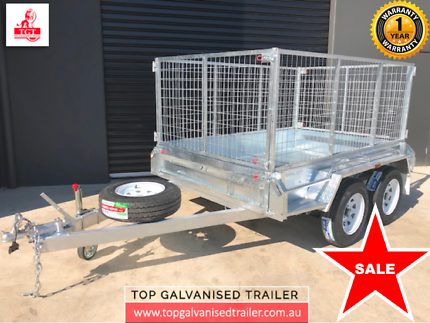 8x5 Box Trailer Hot Dip Galvanised With 900mm Cage, 2000 kg ATM Croydon Maroondah Area Preview