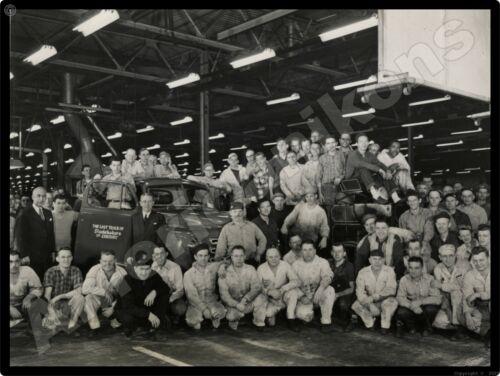 1952 Studebaker Trucks New Metal Sign: Last Studebaker Truck from South Bend Pic