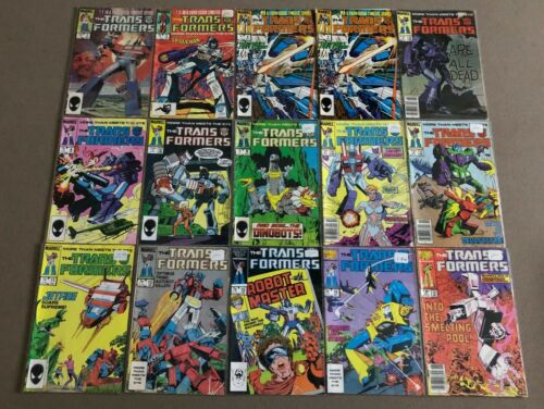 Marvel Transformers Comic Book Lot of 53