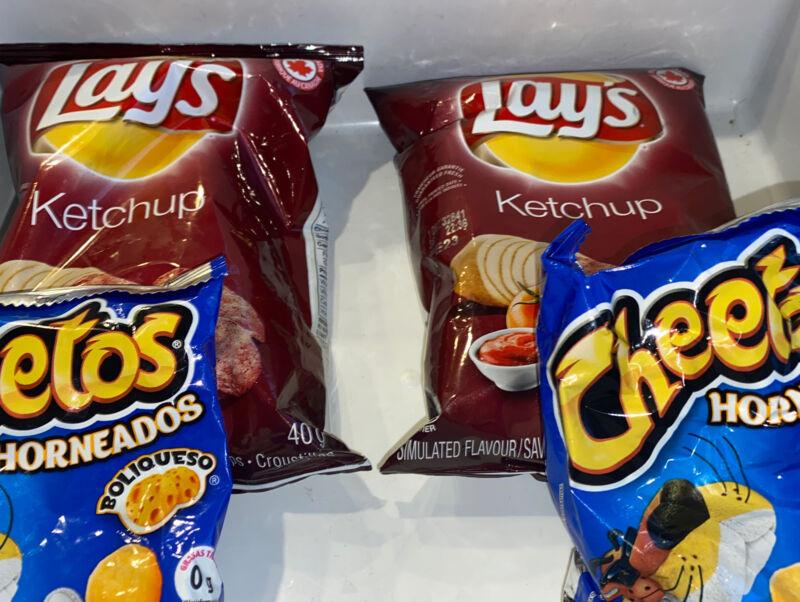 Lays Exotic Ketchup And Cheetos Habaneros