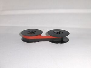 Vintage Portable Manual Royal Typewriter Spool Ribbon Black - Red Ribbon