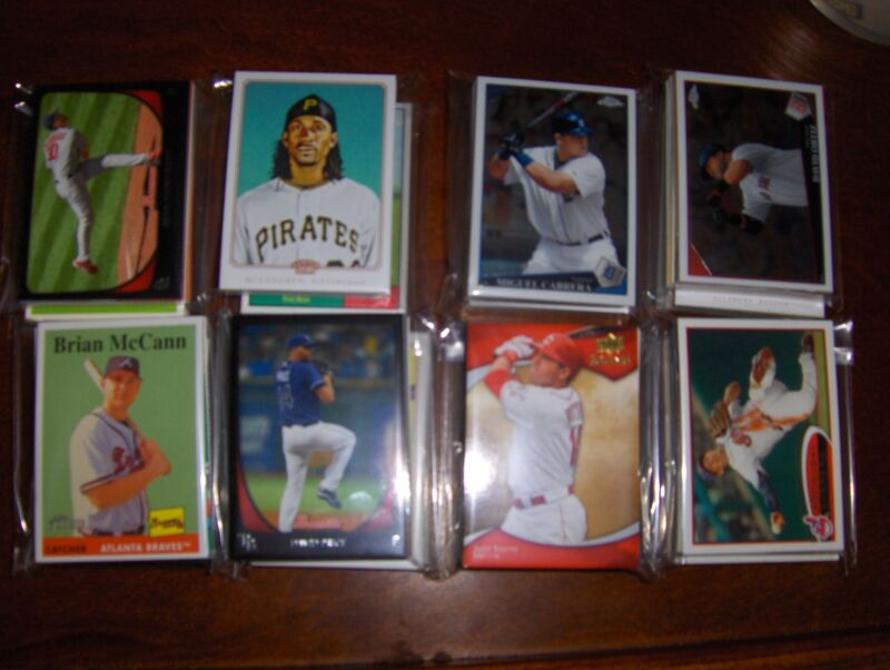 WASHINGTON NATIONALS 100 DIFFERENT CARDS, STARS, RC