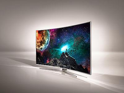 Die Curved-TVs sind nach wie vor ziemlich beeindruckend. Foto: Samsung