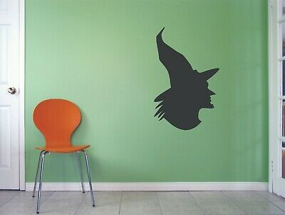 Witch Halloween Theme Magic Decal Art Decals For Rooms Walls Stickers Sticker