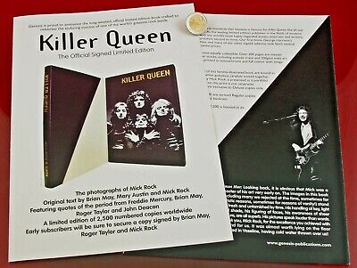 Gelegenheit: KILLER QUEEN DELUXE Promo - THE INCREDIBLE ROCK-WORK by MICK ROCK