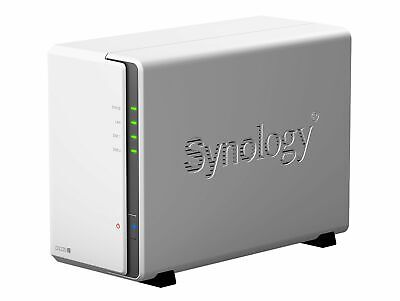 Synology DiskStation DS220j, 2-Bay NAS-Server, für 6,35/8,89 cm Festplatten