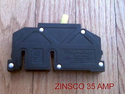 Zinsco 35 Amp Circuit Breaker 1 Pole 120240 Vac Type T