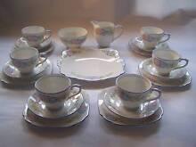 Vintage Beautiful Bell Tea Set Trio x 6 Trios Milk Cake Sugar Wynyard Waratah Area Preview