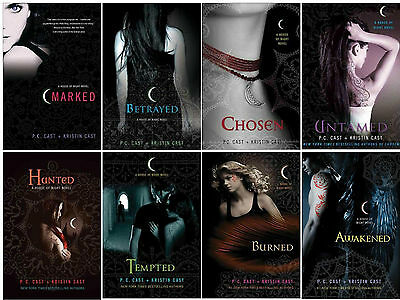 House of Night Series Paperback Collection Set by P. C. Cast and Kristin Cast