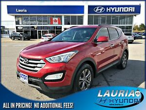 2013 Hyundai Santa Fe Sport 2.4L AWD Premium - Bluetooth / Heate