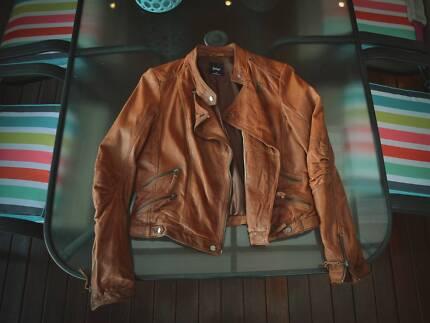GENUINE LEATHER - Women's Jacket - Sportsgirl - Size 12 - NEW Rockdale Rockdale Area Preview