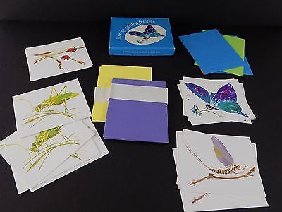 Vintage Current Stationary Garden Friends 14 Blank NOTE CARDS Linda K Powell