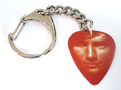 ED SHEERAN Pick Plectrum Bag Charm Keyring 02