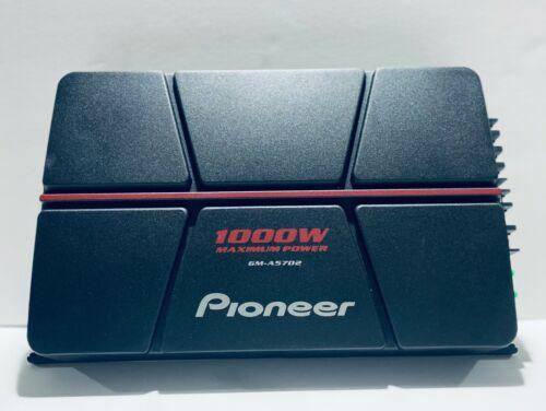 PIONEER ELECTRONICS GM-A5702 CAR AMPLIFIER 1000W