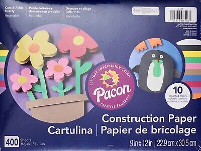 Colored Construction Paper (Pacon Construction Paper 9