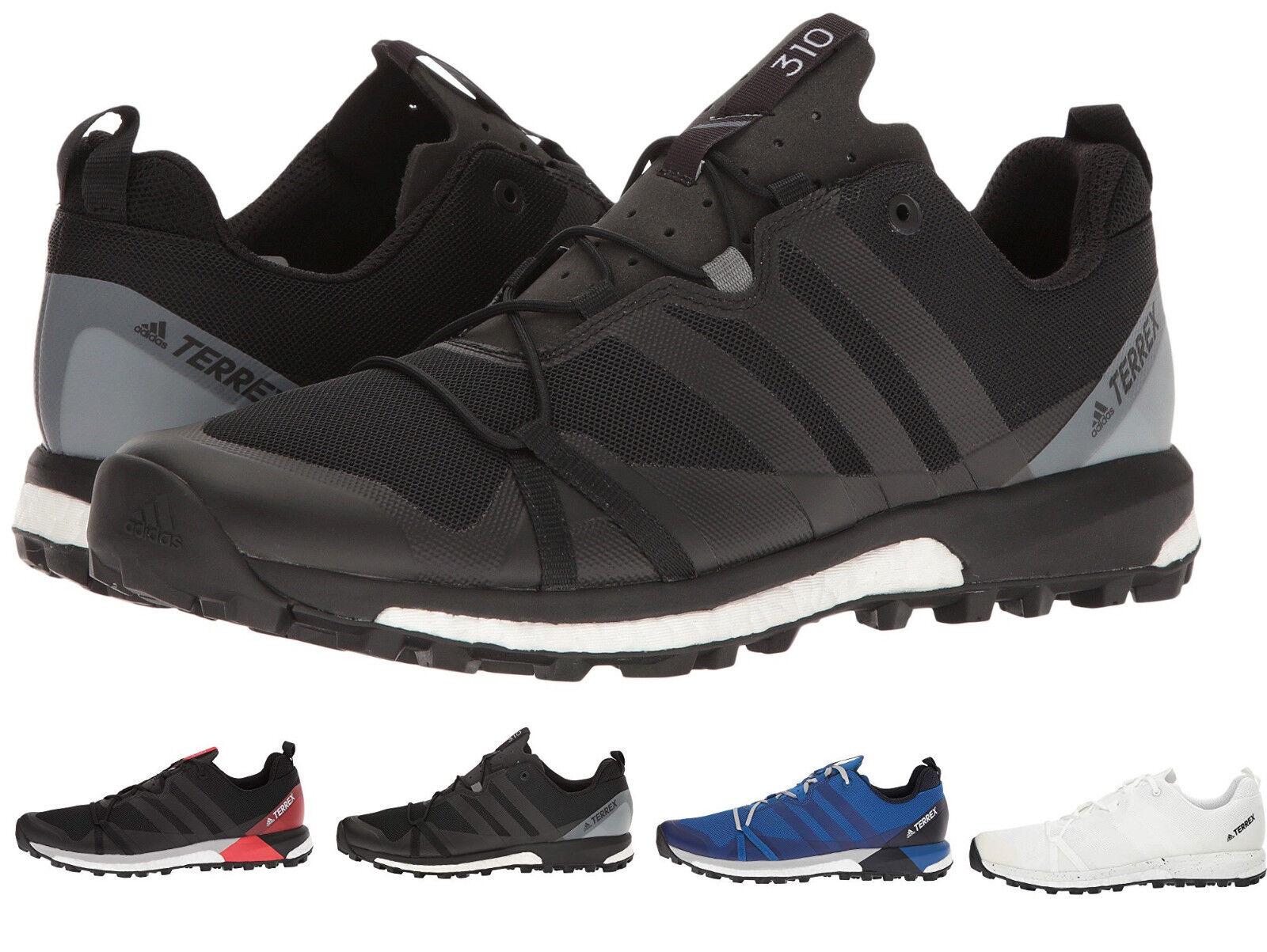 Adidas Terrex Agravic GTX AF6119 Outdoor Gore Tex Trail Running Shoes Men's 8