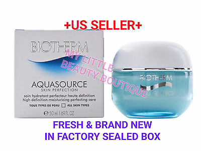 Kyпить BIOTHERM AQUASOURCE SKIN PERFECTION High Def Moisturizing Perfecting Care 1.69oz на еВаy.соm