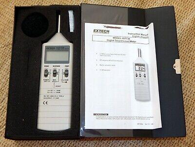 Extech Instruments 407736 35db-130db Digital Sound Level Meter Free Shipping