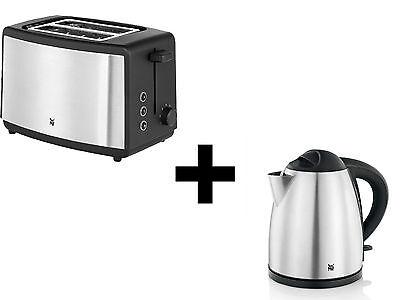 WMF Set Bueno - Wasserkocher + Toaster - Edelstahl/schwarz #735165 #847692