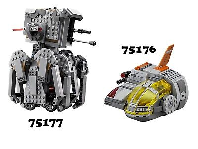 🔹NEW🔹 Lego Star Wars 75176 & 75177 Combo Sets with ALT BUILDS 🔹NO MINIFIGS🔹