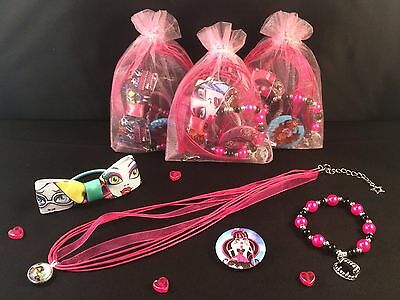 Monster High Themed Party (MONSTER HIGH THEMED PARTY/GIFT/LOOT/BAG/FILLER **FANTASTIC VALUE FOR MONEY)