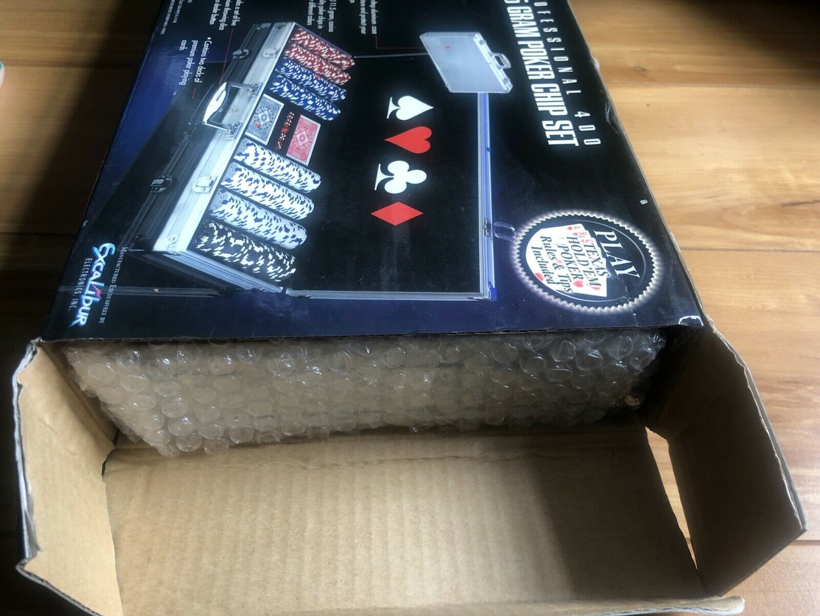 Excalibur Electronics Professional 400 115 Gram Poker Chip Set