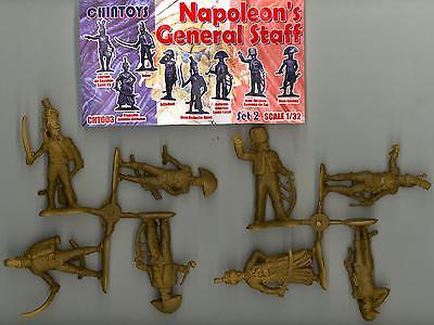 Chintoys 1/32 NAPOLEON'S GENERAL STAFF Part 2 Figure Set